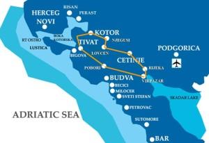 Forts Lake Skada Map