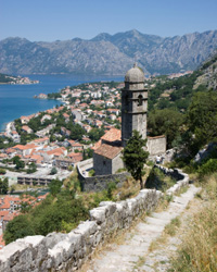 Walk above Kotor